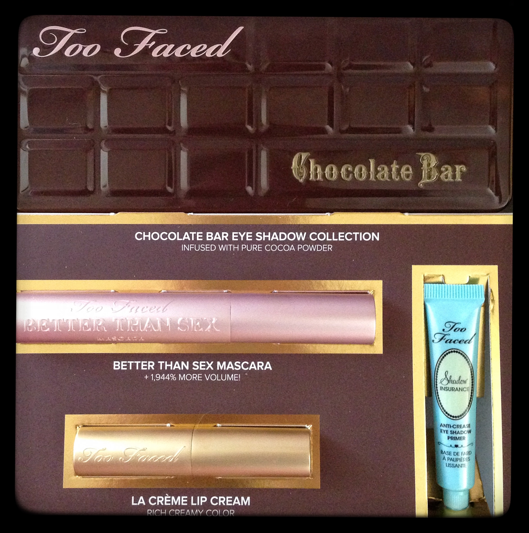 Too Faced Chocolate Bar Palette Review |